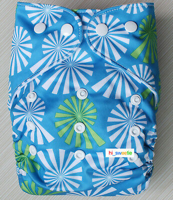 Baby Boy Girl Cloth Diapers One Size Reusable Adjustable Nappy Pocket Cover K05