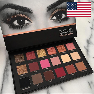 Pro 18 Colors Women Shimmer Matte Eyeshadow Pallete Waterproof Make Up Set US