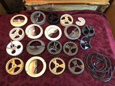Lotof Gumball Machine Vending Wheels and Gaskets
