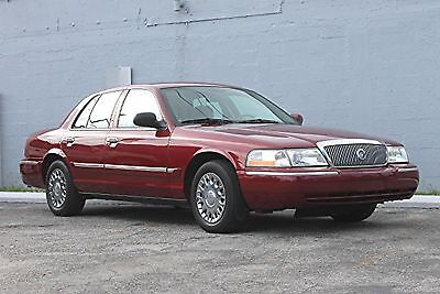 2003 Mercury Grand Marquis GS 23K ORIGINAL MILES! CARFAX CERTIFIED! 1 OWNER! WARRANTY! FLORIDA VEHICLE!