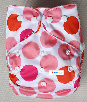 Baby Boy Girl Cloth Diapers One Size reusable Adjustable Nappy Pocket Cover K09