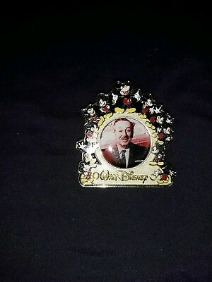 Disney Pin Walt Disney Surrounded by Mickey 100th Birthday LE # 8473