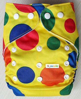Baby Boy Girl Cloth Diapers One Size reusable Adjustable Nappy Pocket Cover K03
