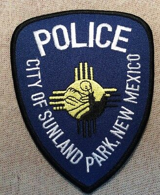 NM Sunland Park New Mexico Police Patch
