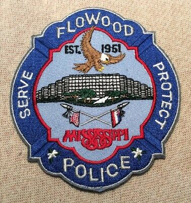 MS Flowood Mississippi Police Patch