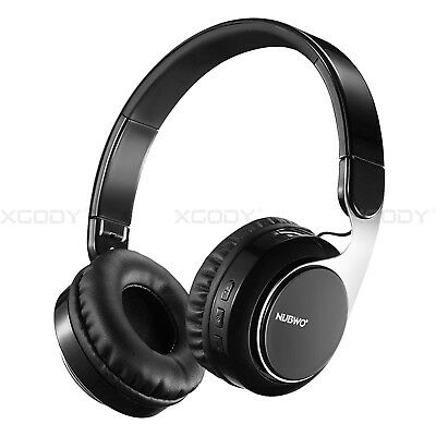 Bluetooth Headphones Stereo Sound Over Ear Wireless Headset Noise Cancelling
