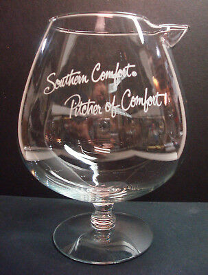 Southern Comfort - Pitcher of Comfort - 32oz Glass Decanter - Whiskey - Vintage