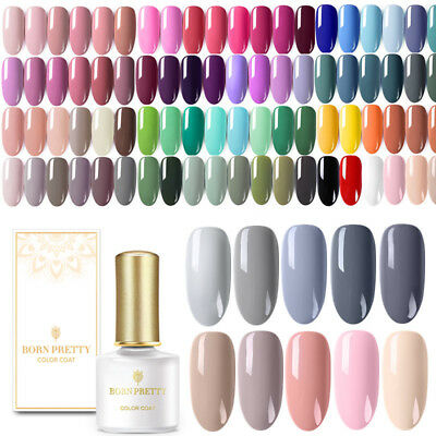 BORN PRETTY 6ml Nail Art Vernis à Ongles Semi-permanent UV Gel Polish Manucure