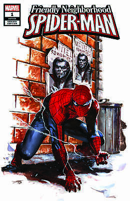 Friendly Neighborhood Spider-Man 1 Gabriele Dell'otto Exclusive Variant New Nm