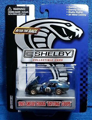 """Shelby Collectible Cars 1965 Shelby Cobra """"Daytona"""" Coupe - After the Race Chase"""