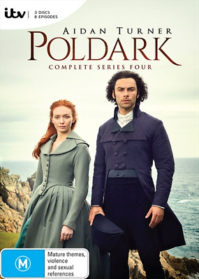 Poldark : Series 4 (DVD, 3-Disc Set) NEW