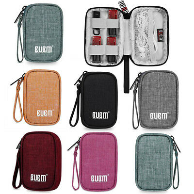 BUBM Electronic Digital Organizer Bag USB Cable Earphone Gadget Travel Storage