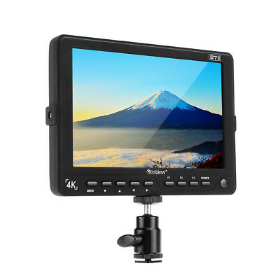 "BESTVIEW S7II 4K Camera Field HDMI 3G-SDI Monitor 7"" IPS HD Monitor 1920*1200"