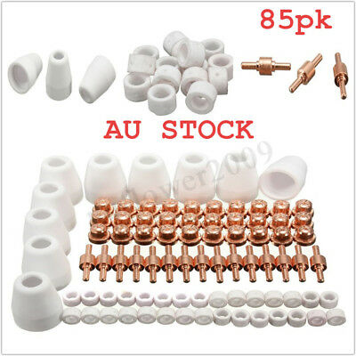 85pcs LG-40 PT-31 Air Plasma Cutter consumables Fit For CT-312 CUT-40 CUT50D