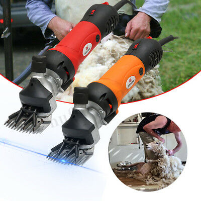 850W 220V Electric Shears Shearing Clipper Animal Sheep Goat Pet Farm Machine