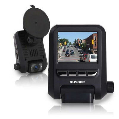 Ausdom AD118 Dual Lens Full HD 1080P Dash Cam Recorder Car DVR Dashboard Camera