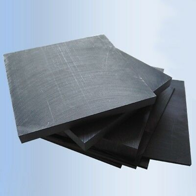 99.9% Pure 10x10cm Graphite Sheets Electrode Parts Refractory 1-10mm Thick Home