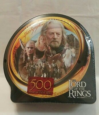 2003 Lord of the Rings Puzzle - Flight of Plainsmen La fuite- 500 pcs. - New