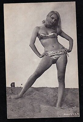Vintage Antique Photograph Trade Card Sexy Woman in Bikini Bathing Suit #7