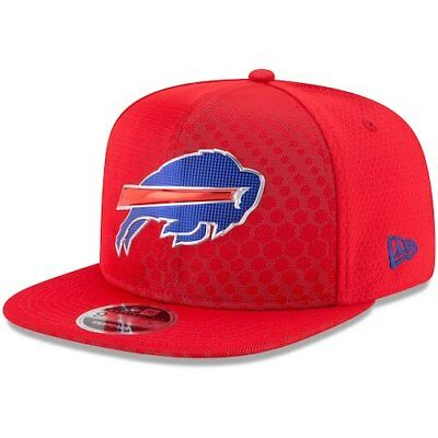 faebfcbf3 New Era Buffalo Bills Red 2017 Color Rush 9FIFTY Snapback Adjustable Hat