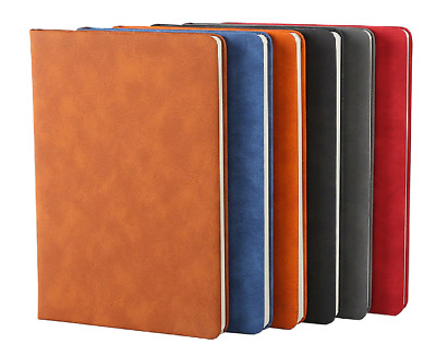 Top Quality A5 Leather Notebook Soft Premium Pure Leather Journal Diary Notepad