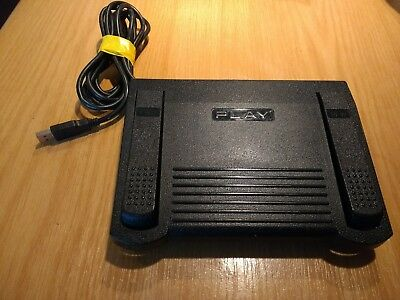 Infinity IN-USB-1 Transcription Foot Pedal FULLY TESTED