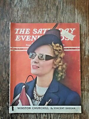 Saturday Evening Post Magazine - October 21, 1939
