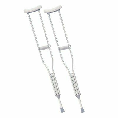 Pair of Drive Lightweight Underarm Crutches