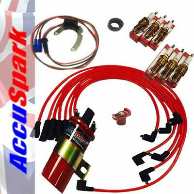Ford Essex V6 - Bosch Distributor  AccuSpark Module Pack ,Sports red coil
