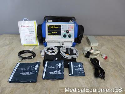 ZOLL M Series 3 Lead ECG SpO2 NIBP Analyze pace ALS Case