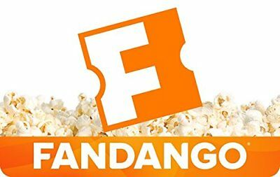 Fandango Gift Card $25 eGift Discount FAST Email delivery SAVE NO TAX FREE SHIP