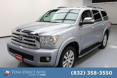 2012 Toyota Sequoia Limited Texas Direct Auto 2012 Limited Used 5.7L V8 32V Automatic RWD SUV