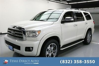 2015 Toyota Sequoia Platinum Texas Direct Auto 2015 Platinum Used 5.7L V8 32V Automatic RWD SUV Premium