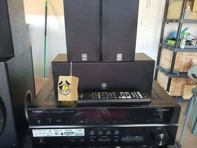 Yamaha Rx V479 51 Channel 80 Watt Receiver W Speakers