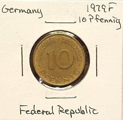 1979F Germany 10 Pfennig