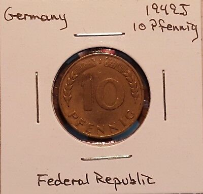 1949J Germany 10 Pfennig