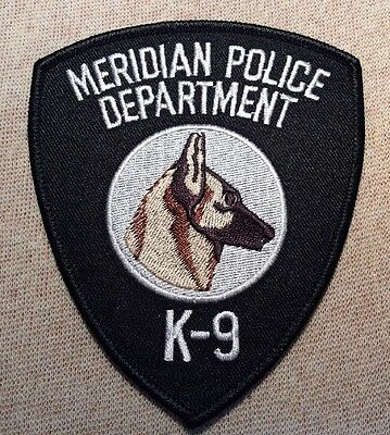 MS Meridian Mississippi K-9 Police Patch