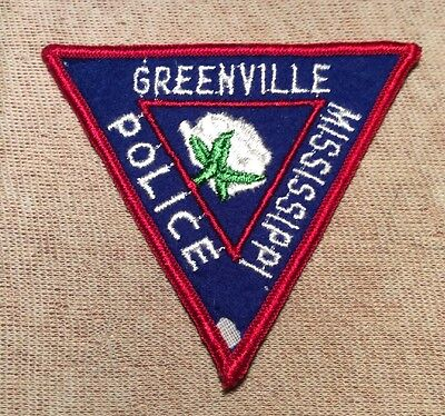 MS Greenville Mississippi Police Patch