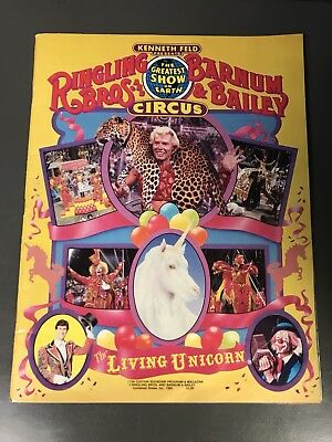 Ringling Bros & Barnum & Bailey Circus Program 1985 115th Edition