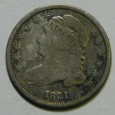 1832 Capped Bust Dime, Fine