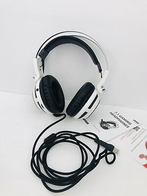 2 New Pyle PGPHONE80 7.1 Gaming Headset Headphones with Microphone USB Pack of