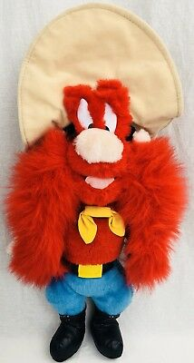 "Yosemite Sam Plush, Large 16""  Ace Novelty Co 1995 Looney Tunes Warner Bros."