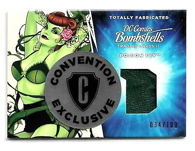 Cryptozoic DC Bombshells Totally Fabricated Philly Exclusive TF1 Poison Ivy /100