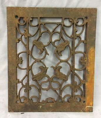 Antique Rectangular Heat Grate Grill Decorative Old 10X12 677-18C