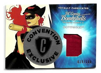 Cryptozoic DC Bombshells Totally Fabricated Philly Exclusive TF3 Batwomen 39/100