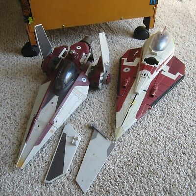 Star Wars Prequels, Ship LOT, two ships.