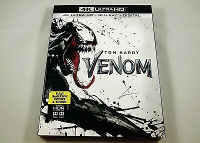 Venom | 4K Ultra HD, Blu-ray & Digital 2-Disc Set Tom Hardy, Michelle Williams