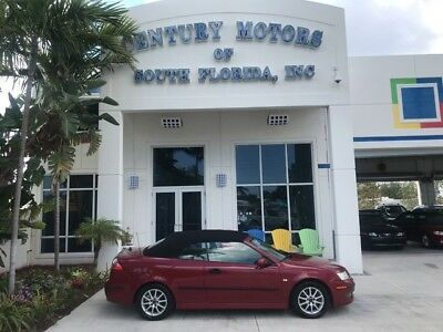 2005 Saab 9-3  Power Top Leather Seats CD Changer Cruise A/C Homelink