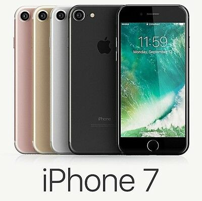 Apple iphone 7 32GB 4G LTE (Factory Unlocked) Smartphone 1-Year Warranty FRB