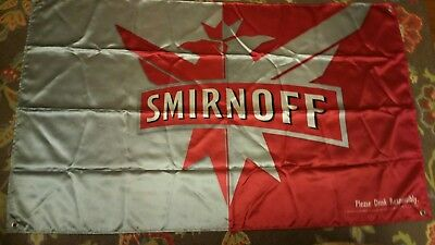 Smirnoff Vodka - Satin - Bar / Liquor Advertising Banner / Sign / Flag